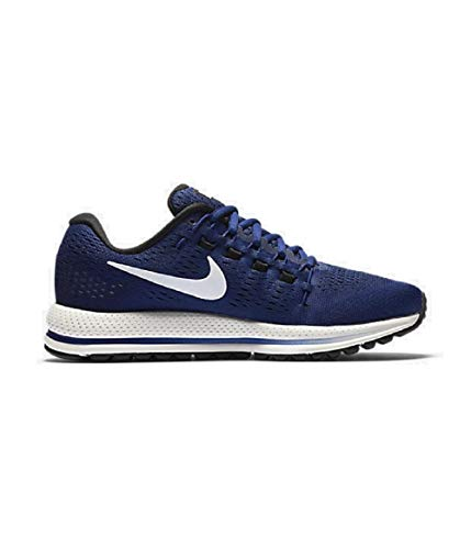 Nike Wmns Air Zoom Vomero 12, Sneakers para Mujer, Azul (Deep Royal Blue/Summit White/Black), 40 EU