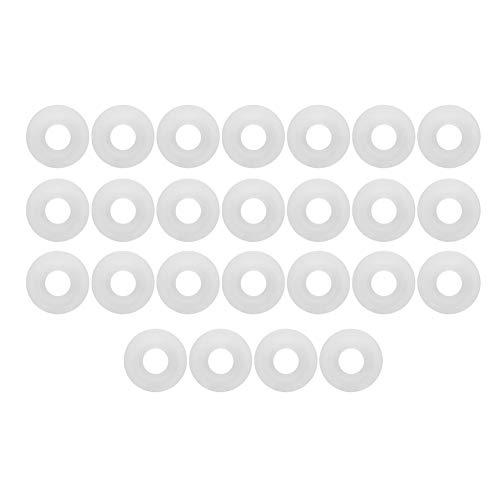 SHYEKYO Grolsch Gaskets Stable Performance Home Brew Accesorios Swing Flip Top Bottle White Reemplazo de Accesorios de elaboración de Cerveza con excelente Mano de Obra
