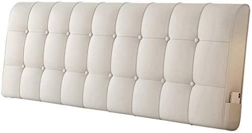 OYY Manufacture Cojines Tapicería de Almohadilla de Cama sin cabecera Soporte de posicionamiento de Lectura Grande al sofá Moda, 4 Colores, 5 tamaños (Color : D, Size : 150x10x60cm)