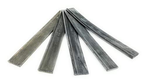 Lewi Vervangende wisserrubber soft 15 cm (11019) (5 stuks) Rubber voor ruitenwisser trekker