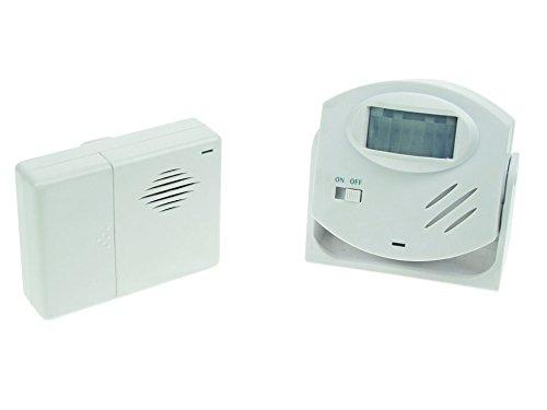 Velleman Ham25 alarmdeurbel met PIR bewegingsmelder, meerkleurig