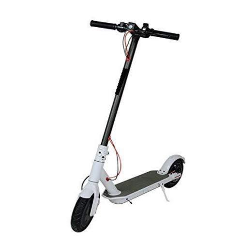 JCL Patinete eléctrico plegable, 350 W, 18 km/h, ruedas de 8,5 pulgadas.
