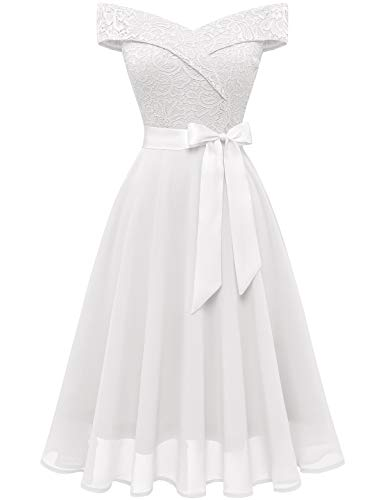 Top 10 Best Elegant Silk Like Chiffon Off the Shoulder Neckline Sheath Wedding Dress Comparison
