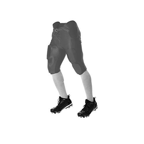 Alleson Athletic Solo Series Fußballhose für Erwachsene, Anthrazit, Größe M