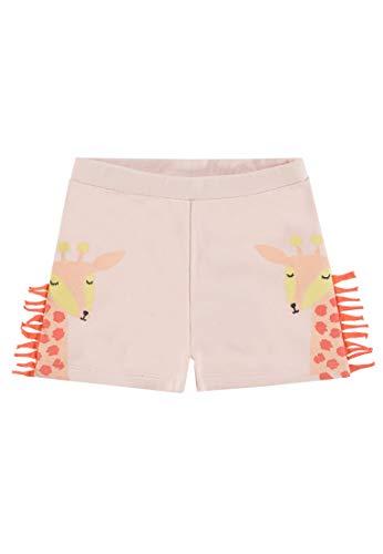 TOM TAILOR Kids Baby-Mädchen Placed Print Shorts, Rosa (Ballet Slipper|Rose 2501), (Herstellergröße: 68)