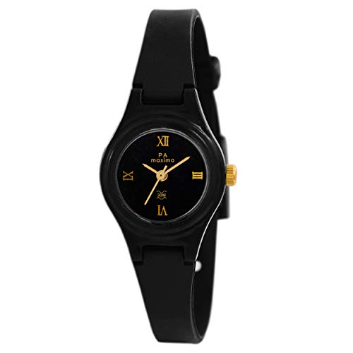 MAXIMA Analog Black Dial Women's Watch-01602PPLW