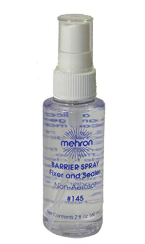 Mehron Barrier Spray Carded Makeup Accessory, 1 Ounce