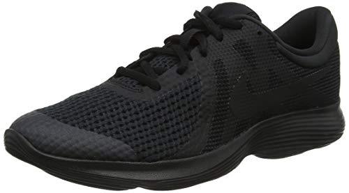 Nike Revolution 4 (GS), Zapatillas de Deporte Mujer, Multicolor (943309 004 Negro), 36.5 EU