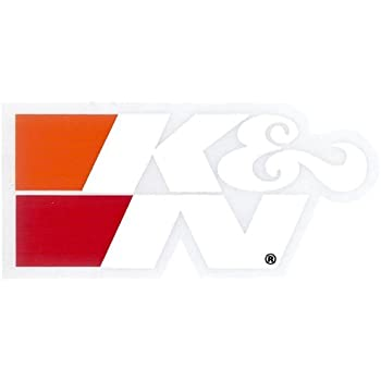 Langersun Car Styling Vinyl Decal Motorsports Helmet Sticker for KN Filter Discharge Equipped 90x33mm