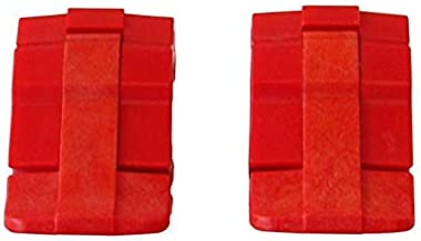 2 Red Replacement latches for Pelican 1500, 1510, 1520, 1550, 1560 Sizes.