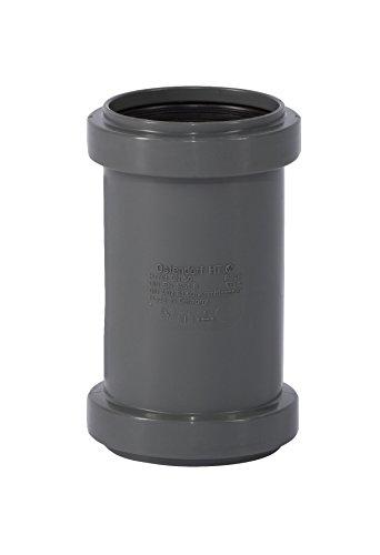 Ostendorf HTsafe Doppelmuffe DN 50 mm HT-Rohr