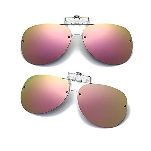 CUTEY Las Gafas De Sol Sin Montura Polarizadas Se Polarizan En Gafas De Prescripción,9,52MM*63MM
