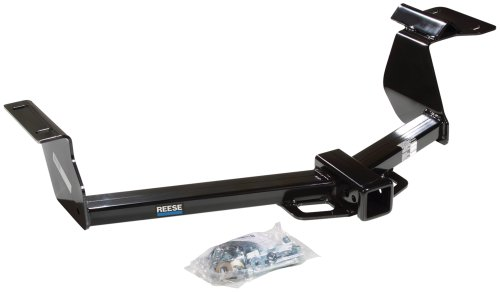 """Reese Towpower 44643 Class III Custom-Fit Hitch with 2"""" Square Receiver opening, includes Hitch Plug Cover"""