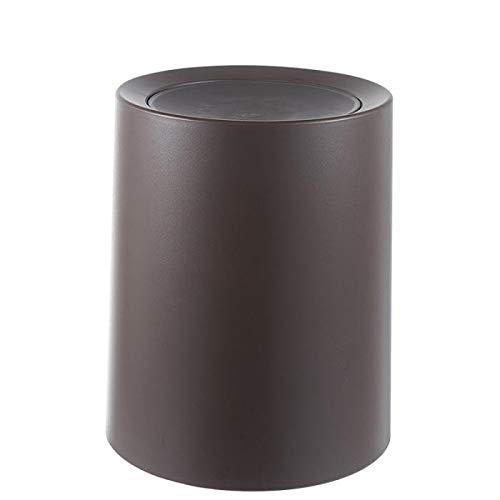 DHFJHF Bote de Basura Kunststoff Abs Flip Deckel Mülleimer Müll Lagerung Fässer Mülleimer Für Home Office Küche Bester Preis