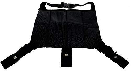 Kiokids 1755 - Cinturón de seguridad para embarazadas, unisex, color negro