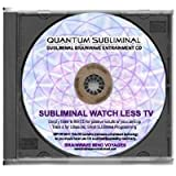 BMV Quantum Subliminal CD Watch Less TV: Stop Watching Television (Ultrasonic Subliminal Series)