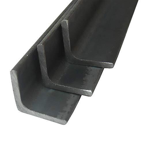 Stahl ST37, S235 Winkel gleichschenklig, Winkelprofil, Oberfläche blank, roh, gewalzt, Abmessung 40 x 40 x 5 mm, Länge 100 cm
