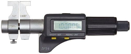 Fowler 54-860-276 Electronic IP54 Inside Micrometer, 1-2' Measuring Range, 0.00005' Resolution