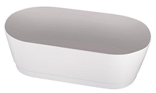 'aquaSu® Schürze zur Acryl-Duobadewanne Ovo Solo 180 x 80 cm   Weiß   Bad   Badezimmer