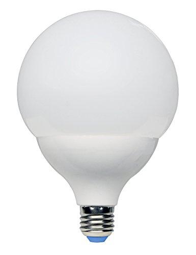 Kai 51021 Lampada a LED Globo E27, 20 W, Bianco, 12,3 x 12,3 x 17,8, a sfera, plastica