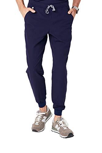 FIGS Men's Tansen 2.0 Jogger Medical Scrub Pants, Navy S