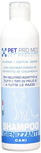 Virosac PetProMed - Shampoo Igienizzante ideale per eliminare i cattivi odori del manto del cane - 1 flacone...