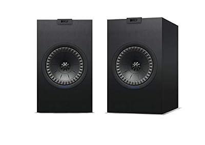 KEF Q350 Bookshelf Speaker, Satin Black (Pair) from KEF