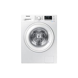 Samsung – Lavadora WW90J5355DW Serie 5 9kg, A+++, Carga Frontal, Tecnología EcoBubble™, Prelavado de Burbujas con 4…