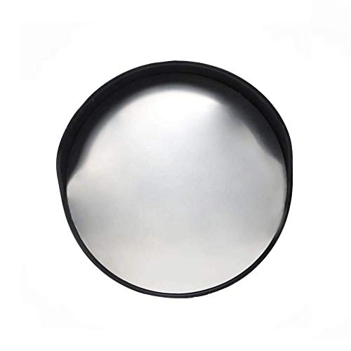 SBTXHJWCGLD Espejo de tráfico Negro, 30CM / 45CM / 60CM Espejo Convexo de Lente antiimpacto de plástico Gran Angular para persianas...