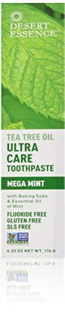 Desert Essence Ultra Care Mega Mint Toothpaste - 6.25 oz