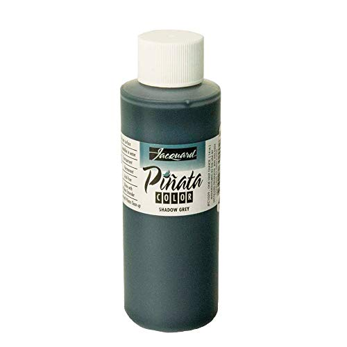 Pinata Shadow Grey Alcohol Ink That by Jacquard, Professional and Versatile Ink That Produces Color-Saturated and Acid-Free Results, 4 Fluid Ounces, Made in The USA