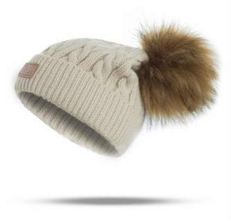 Baby Mütze Kinder Pompon Hut Anzug Mädchen Wintermütze Baby Junge Hut warm...