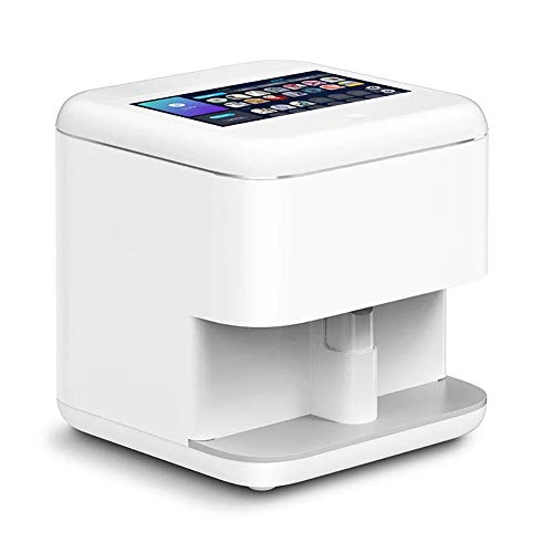 ZXCASD 3D Nail Art Impresora Inteligente De Máquina, Portátil De Uñas Pintura Máquina Pantalla Táctil Smart Control, Teléfono WiFi De La Ayuda De Bricolaje