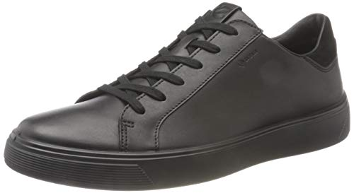 ECCO mens Street Tray Gore-tex Sneaker, Black, 10-10.5 US