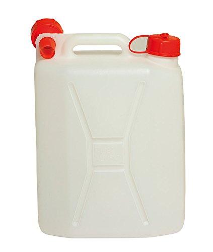Tanica polietilene con tappo versatore per acqua vino olio liquidi (10Lt)