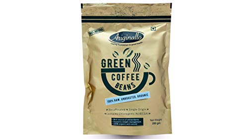 Ariginallo Green Coffee Beans for Weight Loss, 350 g