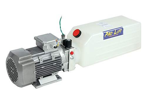 Pro-Lift-Werkzeuge Elektrohydraulikpumpe 380V Starkstrom Kipperpumpe 200bar elektrische Hydraulikpumpe 2,2kW 10l Tank Ersatzpumpe