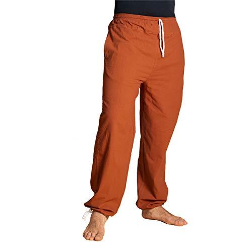 PANASIAM E'Pants Long, Cotton, fuchsiared, L