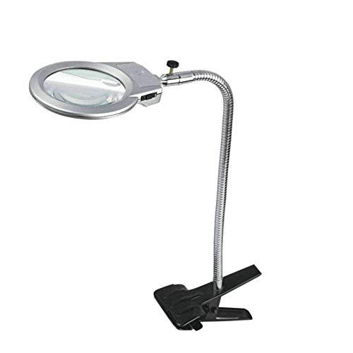 AI LI WEI Magnifier klem vergrootglas grote spiegel HD-lens voor boek lezen, sieraden identificatie, horloges, DIY handwerk snijden en repareren vergrootglas