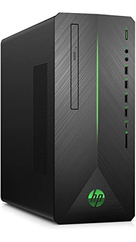 HP Pavilion Gaming 790-0532ng Desktop PC (Intel Core i7-9700F, 32GB DDR4 RAM, 2TB HDD, 512GB SSD, Nvidia GeForce RTX 2080 8GB DDR6, Windows 10) schwarz