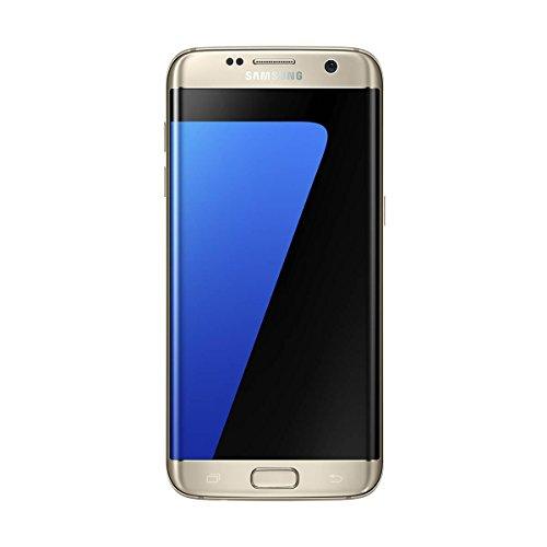 """Samsung Galaxy S7 Edge - Smartphone Libre 5.5"""" (Android 6.0, Pantalla Dual Edge Super AMOLED, cámara Trasera 12 MP y Frontal 5 MP, 32 GB) [Versión española: Incluye Samsung Pay] Dorado"""