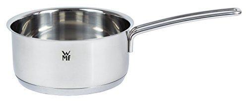 WMF Stielkasserolle 16 cm, ohne Deckel, Kochtopf 1,4l, Milchtopf, Cromargan Edelstahl, Topf Induktion, unbeschichtet, backofengeeignet