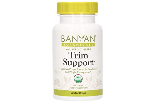 Banyan Botanicals Trim Support - Usda Organic, 90 Tablets - Boosts Metabolism - Herbal Weight Loss Support*
