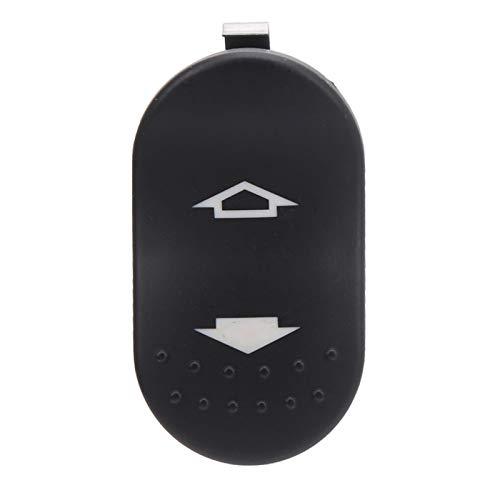 Interruptor de ventana eléctrica, botón de control de interruptor de ventana antidesgaste para automóvil para reemplazo