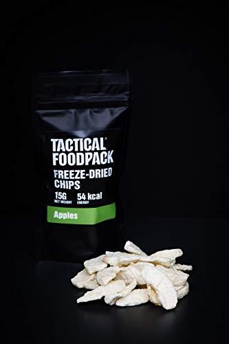 Tactical Foodpack 5 x 15 g czipsów jabłkowych, freezed Dried