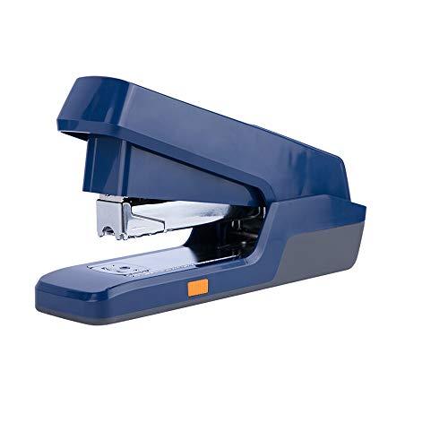 Metálica, Grapa 30 Hojas, Cuerpo Metálico Ergonómico, Gama Rapesco grapadora de media carga, mas una caja de 1000 grapas 24/6mm, blanco mate (Color : Blue)