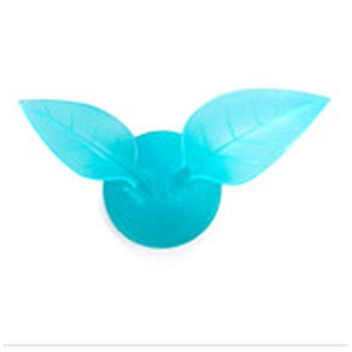 Pinzhi Brosse à dents Creative feuilles Rasoir mur support Aspirateur salle de bains