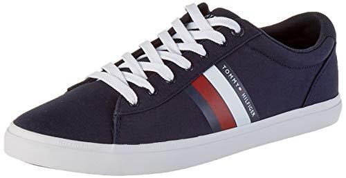 Tommy Hilfiger Herren Essential Stripes Detail Sneaker, Blau (Desert Sky Dw5), 42 EU