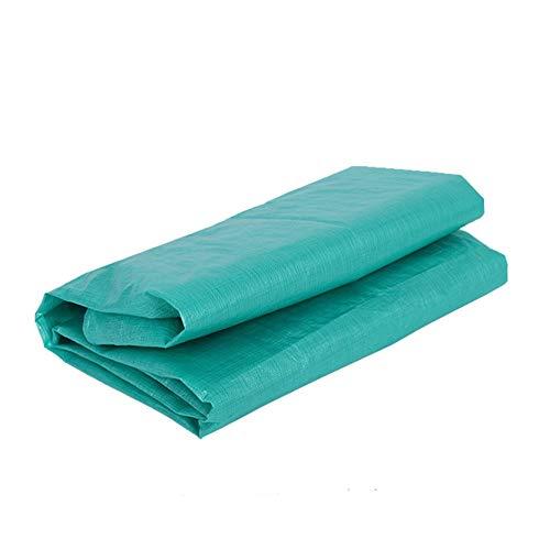 LILIS Schutzhülle Abdeckung für Gartenmöbel Tarps Sunshade Cloth Outdoor Green Geeignet für Feuer Camping Verschleißfeste Verdickung Anti-Aging-Sonnenschutz-LKW-Plane Mit...