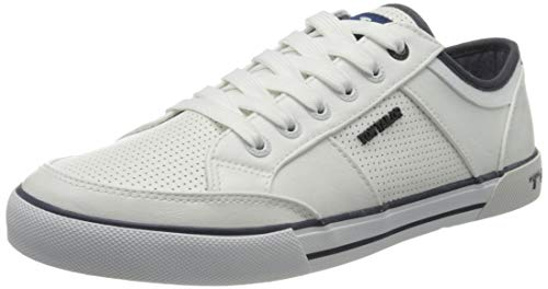 Tom Tailor 805100430, Sneakers Basses Homme, Blanc...